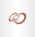 Kidneys stylized icon design vector