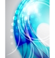 Colorful abstract wave background vector