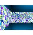 Abstract background with squares eps 8 vector