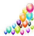 Balloons corner vector