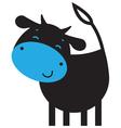 Funny cow vector