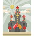 Magic castle vector