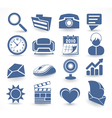 Technology set of icons vector