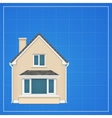 Architecture background with detailed house on a vector