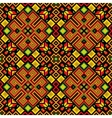 Ethnic mosaic ornamental background vector