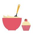 Cook dessert vector