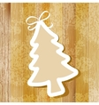 Tree on wooden background  eps8 vector
