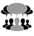 People cloud vector