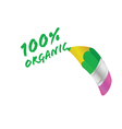 Organic pencil vector