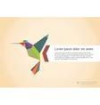 Abstract colibri vector