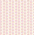 Seamless heart pattern love vector