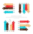 Set of design elements for infographic vector