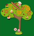 Sweet tree vector