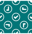 Check mark web icon flat design seamless pattern vector