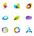 Logo design elements set 41 vector