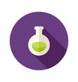 Halloween potion flat icon vector
