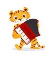 Musical animals vector