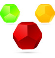 Set of dodecahedron vector