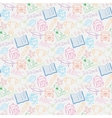 Seamless pattern back to school vector