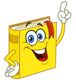 Book cartoon vector