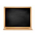 Black blackboard vector