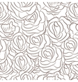 Great seamless pattern with flowers vector