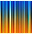 Abstract striped orange and blue background vector