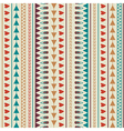 Seamless pattern with hearts lines arrows vector