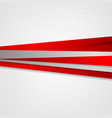 Abstract corporate striped background vector