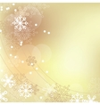 Christmas elegant beige background vector