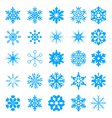 Snow crystal icon sets creative icon design serie vector
