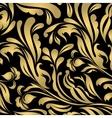 Beautiful abstract gold card vector