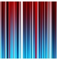 Abstract striped red and blue background vector