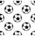 Soccer or football seamless pattern vector