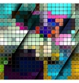 Colorful abstract mosaic background vector