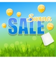 Summer sale concept vector