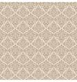 Beige wallpaper pattern vector