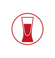 Alcohol beverage theme icon blend or cocktail vector