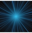 Abstract blue stripes burst background vector