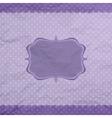 Vintage pattern frame vector