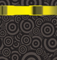 Black modern wallpaper template with copyspace for vector