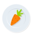 Diet icon vector