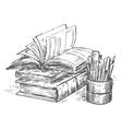 Book set vector