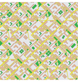 City schematic map background vector