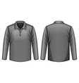 Black shirt vector