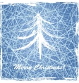 Christmas background with ice texture vector