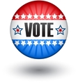Usa vote sign vector