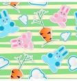 Seamless kid pattern vector