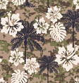 Aloha camouflage vector