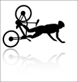 Bike accident vector